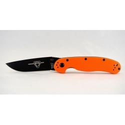 Ontario RAT 2 оранжевый черный клинок
