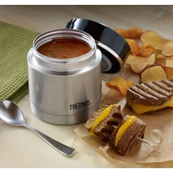 Термос для еды с широким горлом Thermos Stainless King 16-Ounce Food Jar