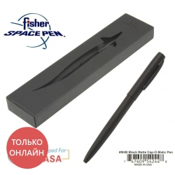 Fisher Pen ручка Cap-O-Matic чёрная M4B