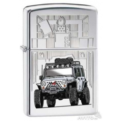 Zippo Jeep Car, Polish Chrome