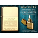 "Zippo High Polish Brass ""Windproof"""