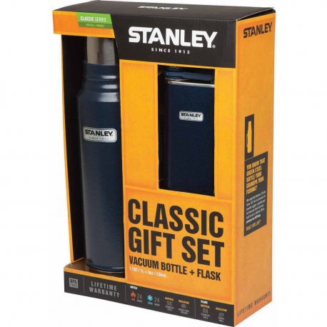 Stanley Classic 1.1 + Flask Navy