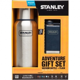 Stanley Adventure Vacuum Bottle + Flask Gift Set