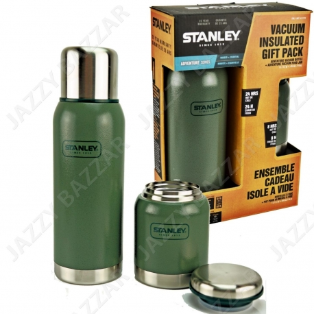 Stanley Adventure Vacuum bootle 1L + Adventure Food Jar 0.4L