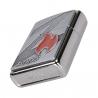 Zippo Z Flame Logo Emblem, Brushed Chrome