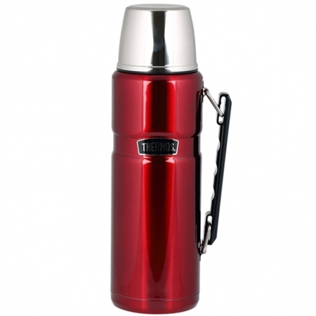 Thermos Stainless King 1.2L малиновый
