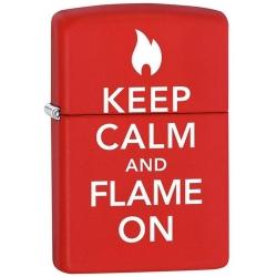 Zippo Keep Calm And Flame