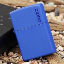 Zippo Royal Blue Matte w/Zippo® Logo