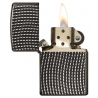 Zippo Cross Wave Ridge, Armor Black Ice