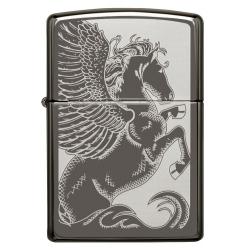 Zippo Pegasus, Black Ice