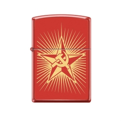 Zippo Hammer and Sickle