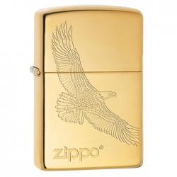Zippo Engraved Soaring Eagle