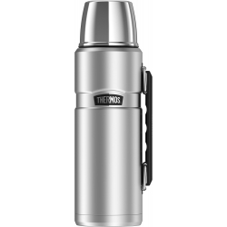 Thermos® Stainless King™ Beverage Bottle – 40 Oz. Silver