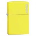 Zippo Neon Yellow with Zippo Logo - Neon Yellow