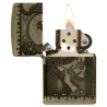 Zippo Armor Multicut Steampunk - Antique Brass