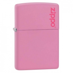 Zippo Pink with Logo