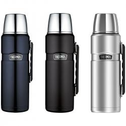 Thermos® Stainless King™ Beverage Bottle – 40 Oz. Black