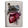 Zippo Dagger Through Heart