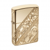 Zippo 2018 limited Collectible of Year Golden Scroll, Gold-Plated Armor