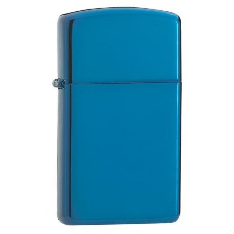 "Zippo ""Sapphire Blue"" Slim"