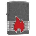 """Zippo """"Flame"""" Iron Stone"""