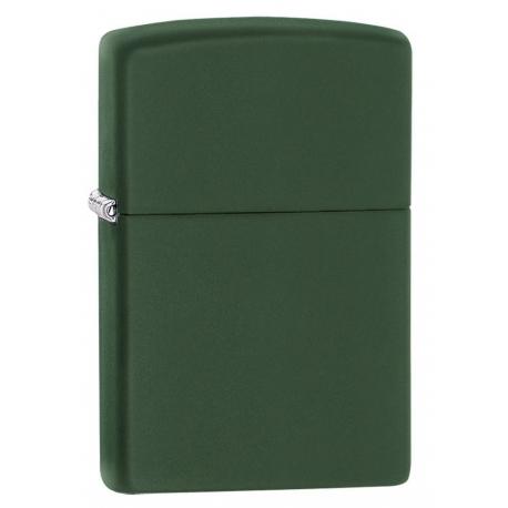 Zippo Green Matte Finish Lighter