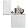 Zippo Sterling Silver Vintage with Slashes