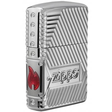 Zippo Bolts Design