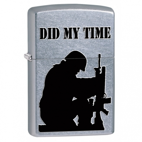 Zippo Army Soldier, Did My Time - Street Chrome