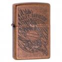 Zippo Harley-Davidson Copper