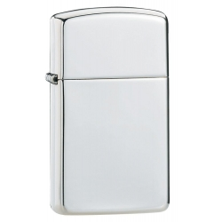 Zippo Sterling Silver Slim High Poish