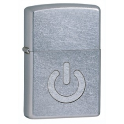 Zippo Street Chrome Power Button