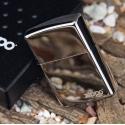 Zippo Black Ice with Zippo Logo