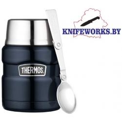 Термос с широким горлом Thermos Stainless King 16-Ounce Food Jar