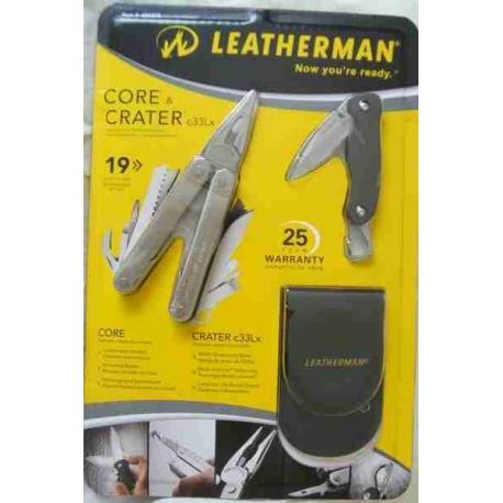 Набор Leatherman Core+ нож Crater