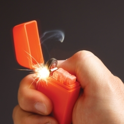 Zippo Orange Emergency Fire