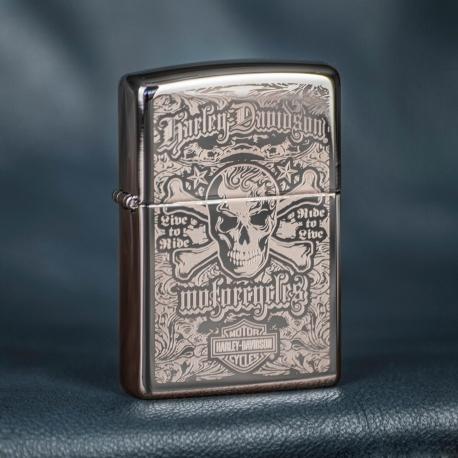 Zippo Harley-Davidson Skull