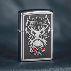 Zippo Harley Crystal HD