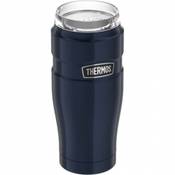 20-Ounce Stainless Steel Travel Tumbler with 360° Drink Lid