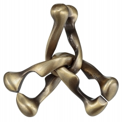 TRINITY Hanayama Cast Metal Brain Teaser Puzzle (Level 6)