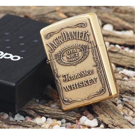 Zippo Jack Daniel's Brass Emblem